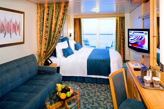 Liberty of the Seas Deluxe Oceanview Balcony Stateroom - Category E1, E2